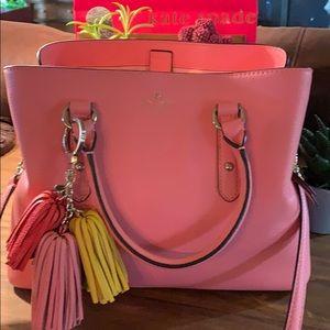 Kate Spade purse 3 compartments EUC.